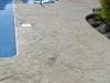 Stamped Pool Deck
