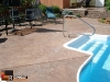 Stamped & Colored Pool Deck