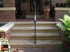 Front Steps designed to match existing limestone